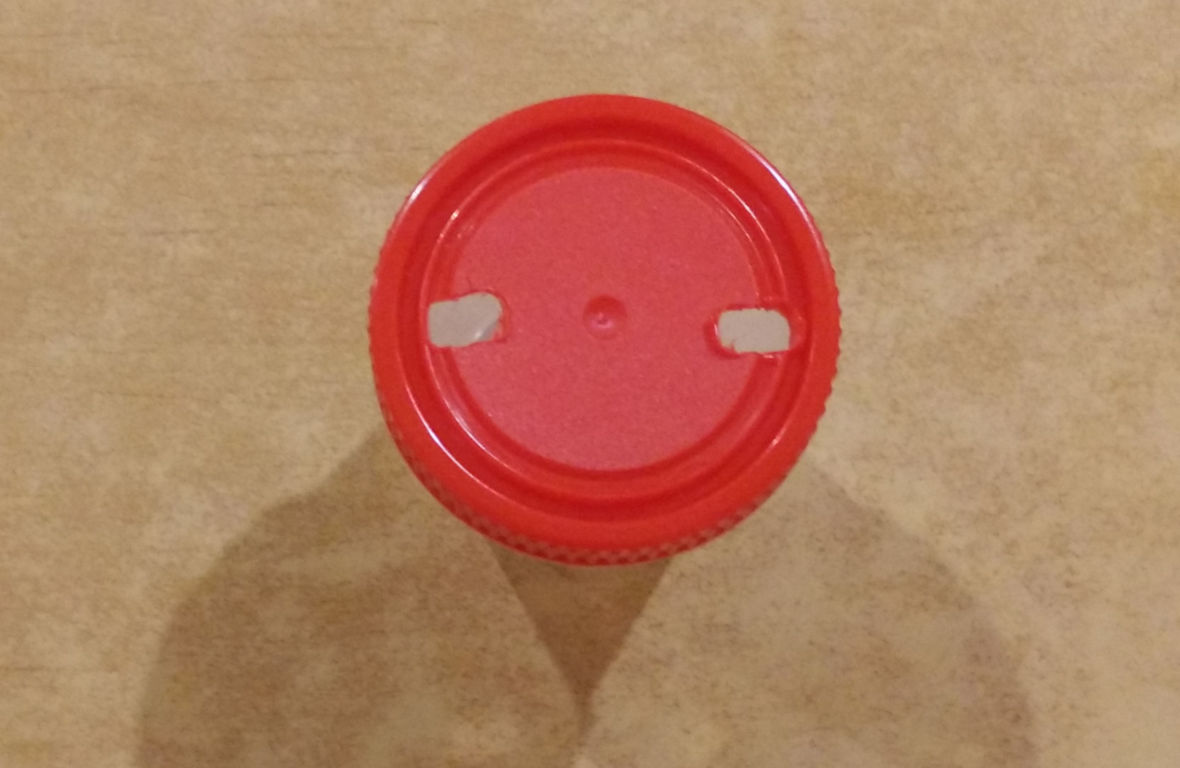 make holes in the cap