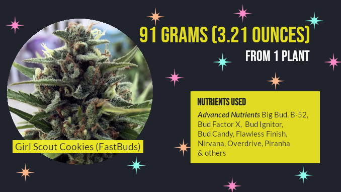 girl scout cookies grown with advanced nutrients